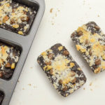 Coconut Walnut Black Bean Brownies