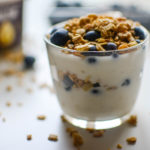 Bluberry Coconut Almond Yogurt parfait1